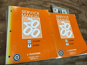 2000 sunfire service manual