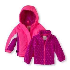 076f8d491 TCP Toddler Baby Girl 3-in-1 Pink Winter Coat Ski Jacket Water ...