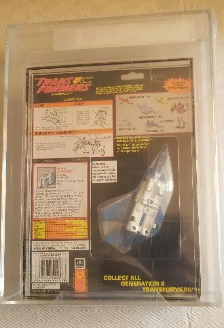 Transformers Generation 2 Air Raid (Hasbro 1993) AFA AFA AFA 85 80 85 85 47145c