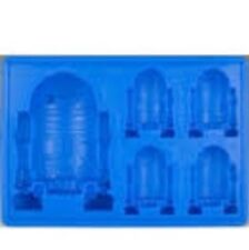 ^p€ Silicone Star Wars Chocolate Cookie Cake Soap, Ice Cube Tray R2d2