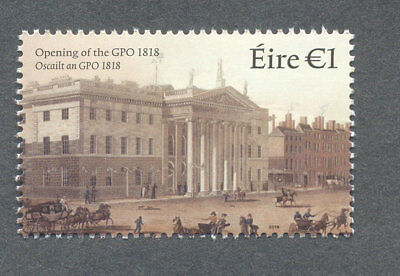 Brilliant Ireland-opening Of The Gpo 1818-200 Year Anniv Mnh-architecture-2018 Mnh Europe Topical Stamps
