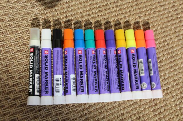 Sakura Paint Markers 5pk Construction Fabrication Welding