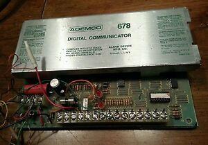 ADEMCO-678-Digital-Communicator-Control-Board-Telephone-Alarm-System-Security