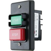 Dual 110 / 220v On Off Power Safety Switch For Router Table Saw, Machine, Motors