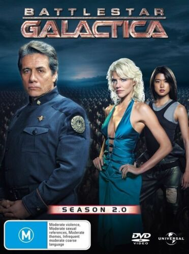 1 of 1 - Battlestar Galactica : Season 2 ( 6-Disc Set) DVD Region 4 (VG Condition) 2.0