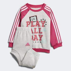 Adidas-Chicas-Jogging-trajes-Terry-frances-Jogger-las-edades-de-2-a-4-anos-Nuevo-DJ1584