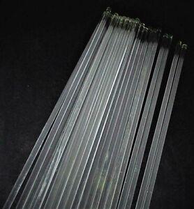 Lot-of-6-Solid-Glass-Rods-25-1-2-034-Gaetano-Sciolari-Lightolier-Chandelier-Part