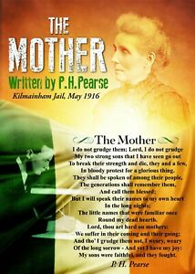 Exclusive-A4-Poster-039-The-Mother-039-Poem-written-by-Patrick-Pearse-May-3rd-1916