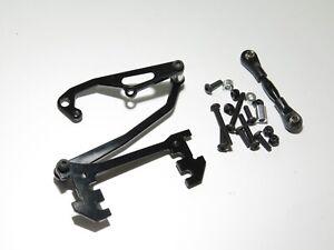 Yy-Madmax Axial SCX10 Aluminium Servo Support Panhard Barre Noir