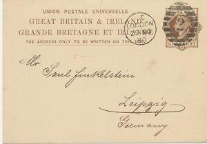 2427-1880-QV-1-d-brown-superb-postcard-with-barred-Duplex-cancel-034-LONDON-2-034