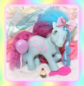 ❤️My Little Pony MLP G1 Vtg CUSTOM Fluffle Puff Mommy Sweet Celebrations OOAK❤️