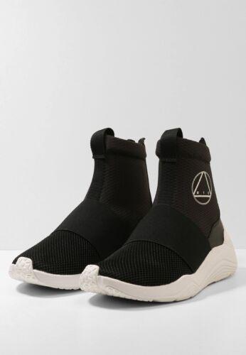 zapatillas y de deporte negro Top Mcq Mcqueen Alexander Blanco High Hikaru zTZOqX