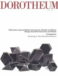 Dorotheum Antique Scientific Instruments And Models 31/03/2016 Hb Decorative Arts Antiques