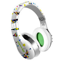 Bluedio A-air Bluetooth4.1 Stereo Mic 3d Headsets Wireless Light Headphone/white