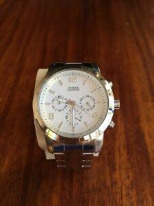 GUESS-U13577G1-Chronograph-Men-039-s-Watch