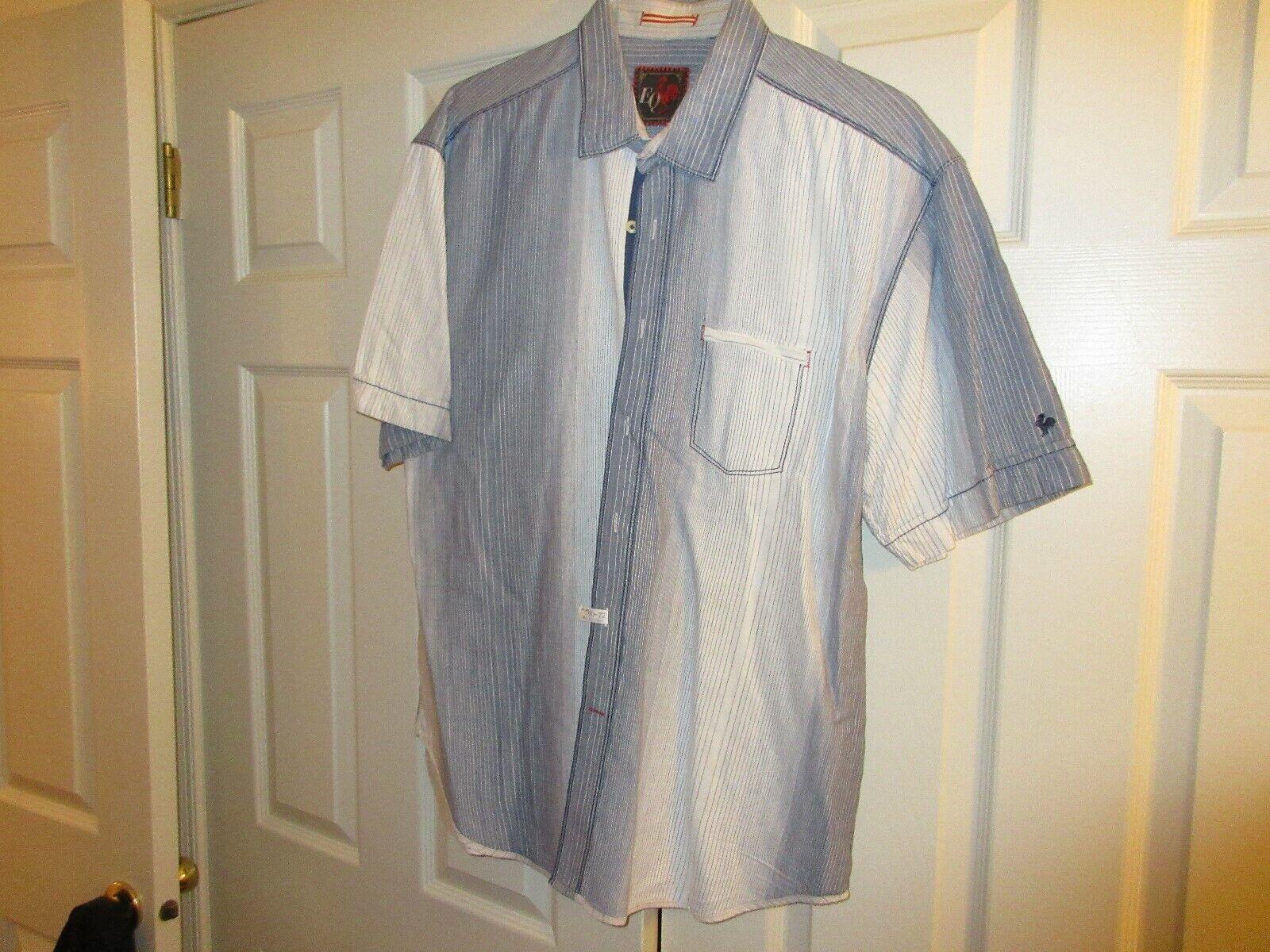 EQ Rooster , Short Sleeve Men's Shirt , XXL , 100% Cott