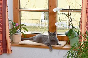 Katzen Fensterliege Katzenbett Fensterliegekissen Fensterbank Liegekissen