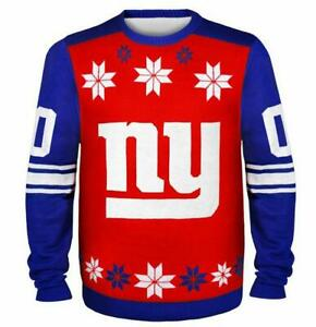 New-York-Giants-Pullover-Sweater-Ugly-NFL-Football-Winter-Style-Gr-XL