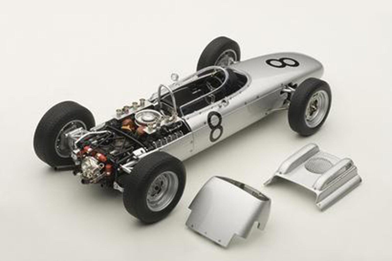 Autoart Porsche 804 F1 1962 Nürburgring Bonnier  8 1 18 Maßstab Neu  Im Lager  | Zuverlässiger Ruf