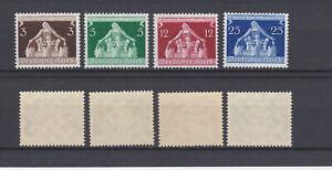 GERMAN REICH 1936 Municipalities Congress Mint ** 473-476 (Mi.617-620)