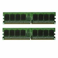 NEW! 2GB (2X1GB) MEMORY 128X64 PC2-5300 667MHZ 1.8V NON ECC DDR2 240 PIN DIMM