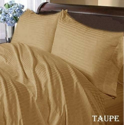 1000 TC EGYPTIAN COTTON 4 PC SHEET SET SOLID//STRIPE RV SIZES/&ALL SIZES AVAILABLE