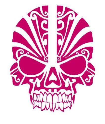 Custom Made to Order Tribal Style Skull 528 Decal Vinyl Sticker