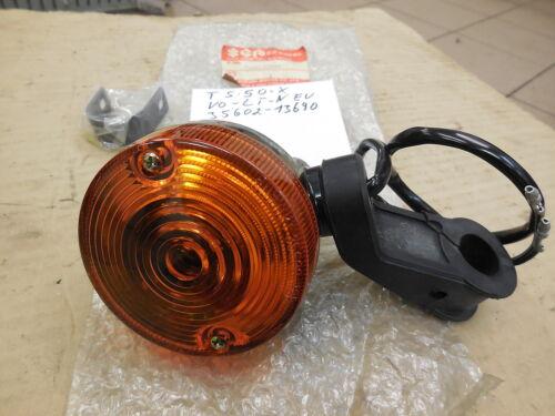 Suzuk ts50x ts80x d/'origine clignotants avant gauche neuf 35602-13690 nos turn signal