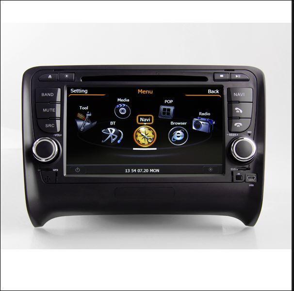 """7"""" Autoradio für Audi TT 8J RNS Navigation GPS DVD MP3 USB TMC DVB-T"""