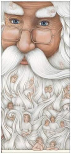 25 Christmas HOLIDAY Greeting SANTA Angels PRINTED US OR CANADA