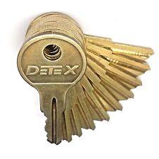 Detex Key Alarm Keys Set Or Single Key Battery Access Cover Ecl230 Eax500 Dt