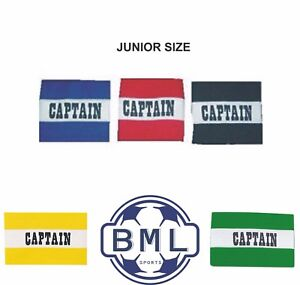 2x Captain Armband Football Rugby Hockey Euros World Cup Premier League UK