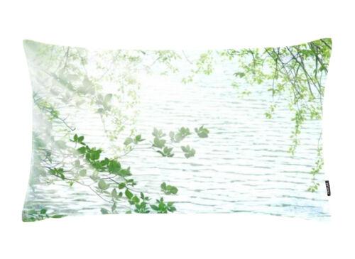 Proflax Kissenhülle Maar 30 x 50 cm Grün Natur