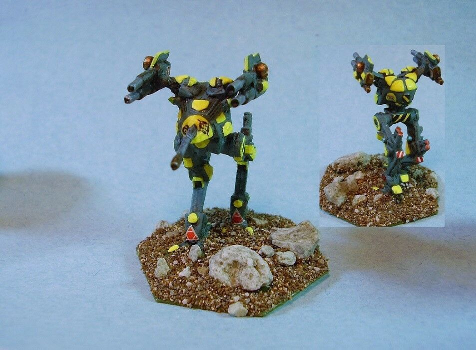 battletech painted Locust battlemech YG