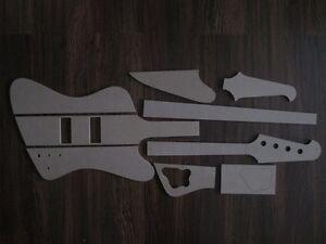 Thunderbird-Bass-Schablone-templates-Gitarrenbau