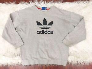 probabile fatica ex  Adidas Big Logo Sweatshirt L | eBay