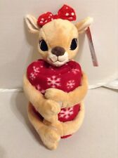 Rudolph The Red Nosed Reindeer Plush Doll Fleece Throw Blanket Classic TV b620a818d