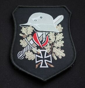 GERMAN-WEHRMACHT-NEW-PATCH-WW2-IRON-CROSS-BADGE-ARMY-THIRD-REICH