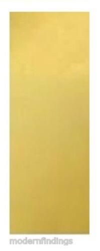 "CRAFT YELLOW SOLID BRASS MADE IN USA SOFT BRASS SHEET  24GA 2/"" X 6/"""