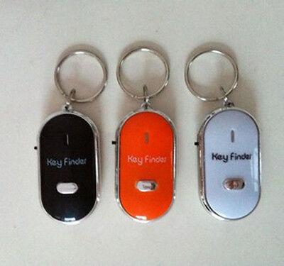 New Portable Whistle Car Key Finder Locator useful  mini Sound LED Key senors CA