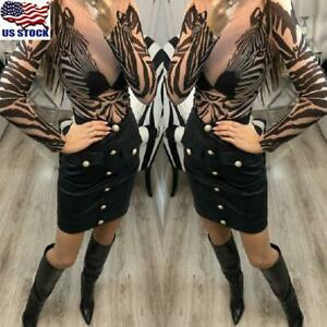 Womens-Zebra-Stripe-Slim-Fit-Tops-Shirt-Ladies-Casual-Long-Sleeve-T-Shirt-Blouse