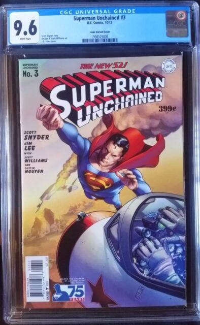 Superman Unchained (2013 DC) #3 Jones Golden Age Variant CGC 9.6 1:75