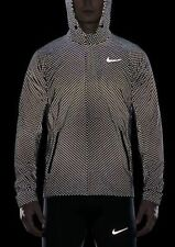 NIKE CITY FLASH MENS RUNNING JACKET 3M 745525 010 BLACK SIZE M MEDIUM RPR £455