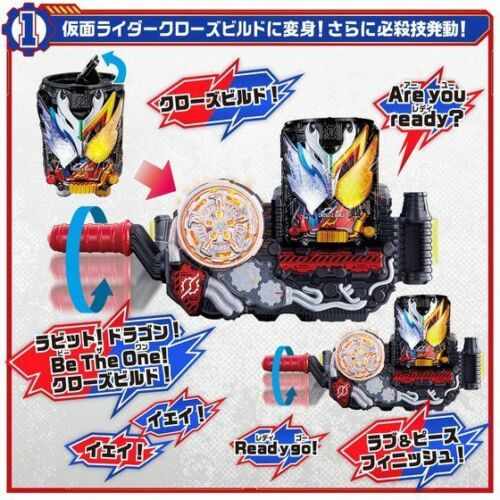 NEW Bandai Kamen Rider Build DX CROSS-Z BUILD CAN KAN from Japan F//S