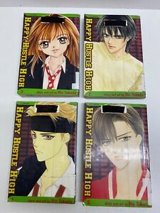 Happy Hustle High vol. 1,2,3,5 by Rie Takada Manga Book Complete Lot in English