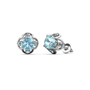 Aquamarine-and-Diamond-Womens-Tulip-Stud-Earrings-1-04-ctw-14K-Gold-JP-85032