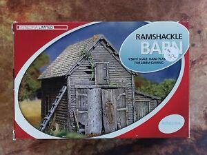 Ramshakle Barn - Rendera - 1/56th scale terrain for 28mm wargaming