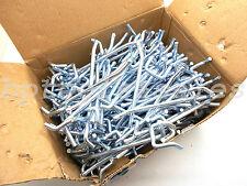 50 4 X 14 Pegboard Hooks Shelf Hanger Kit Garage Storage Hanging All Metal