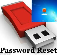 8 GB USB Flash Drive - Password Recovery Removal Reset Unlock Bootable