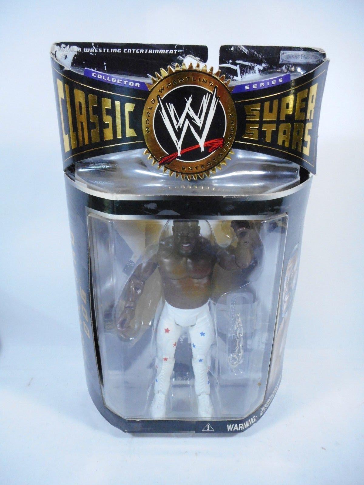 WWE WRESTLING CLASSIC SUPERSTARS JUNKYARD DOG FIGURE SEALED MOC